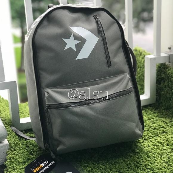 0603d13bc9e Converse Bags | Nwt Street 22 Backpackd Marsh Gray Unisex | Poshmark